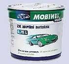 Акриловая автоэмаль MOBIHEL (мобихел) бело-снежная № 202 (0,75 л) без отвердителя., фото 1