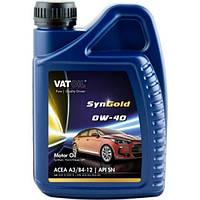 Синтетическое моторное масло VATOIL SYNGOLD PLUS 0W40  1Л