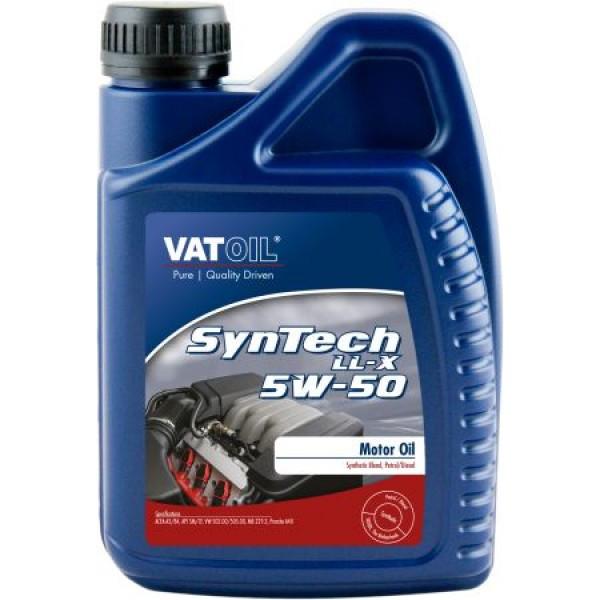 Синтетическое моторное масло VATOIL SYNTECH LL-X 5W50  1Л