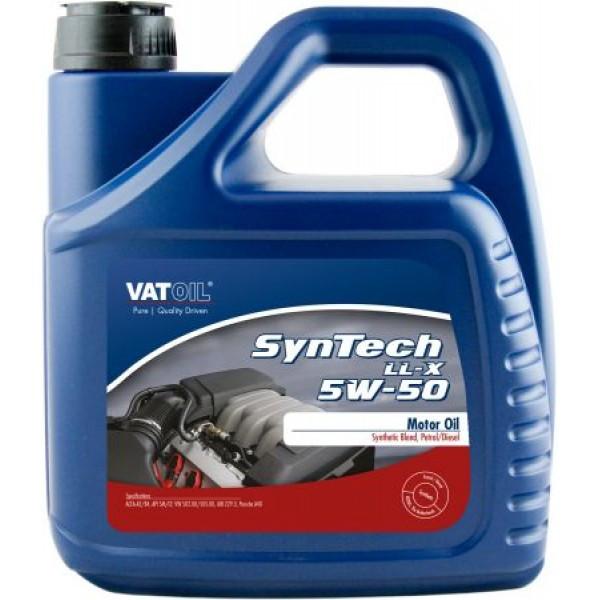 Синтетическое моторное масло VATOIL SYNTECH LL-X 5W50  4Л