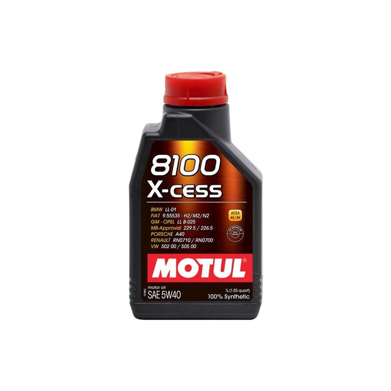 Синтетическое моторное масло - 8100 X-CESS 5W40   1 л.