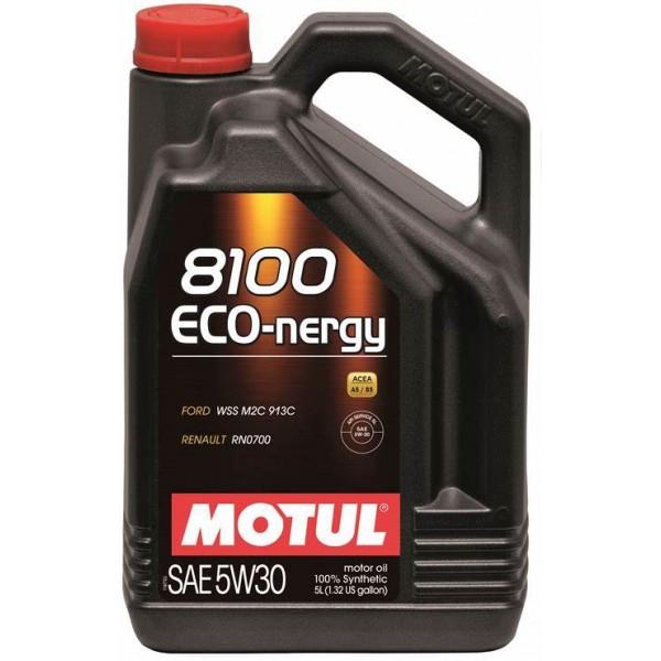 Синтетическое моторное масло - 8100 ECO-NERGY 5W30 5л