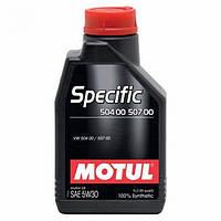 Синтетическое моторное масло - SPECIFIC 504/507 5W30 1л