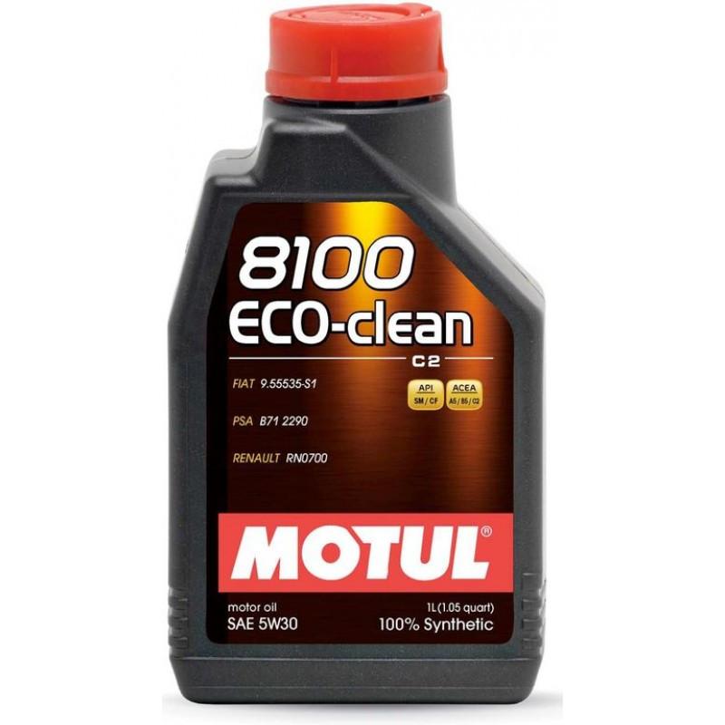 Синтетическое моторное масло - 8100 ECO-CLEAN 5W30 1л