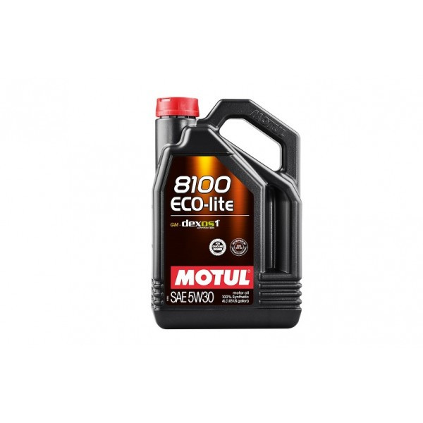 Синтетическое моторное масло - 8100 ECO-LITE 5W30 4л