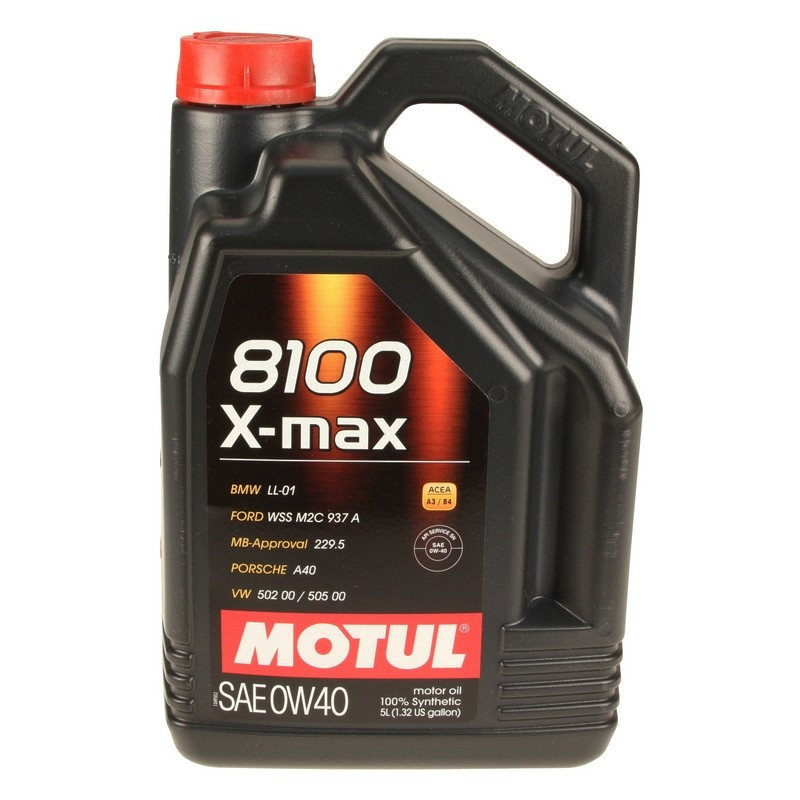 Синтетическое моторное масло - 8100 X-MAX 0W40 5л