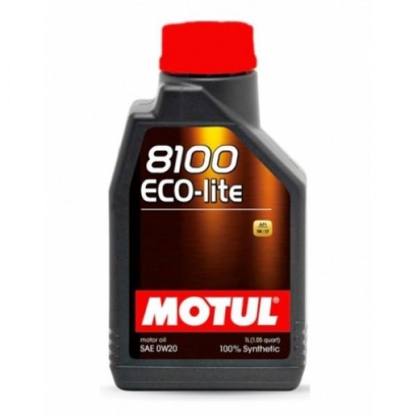 Синтетическое моторное масло - 8100 ECO-LITE 0W20 1л