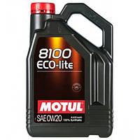Синтетическое моторное масло - 8100 ECO-LITE 0W20 4л