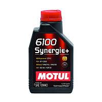 Полусинтетическое моторное масло - 6100 SYNERGIE+ 10W40 1л
