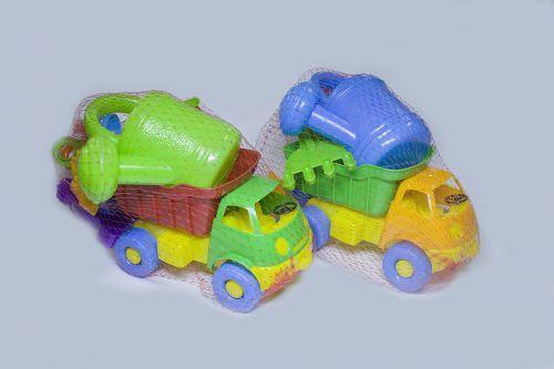 """Машина """"Смайлик-Самосвал"""" с набором для песочницы, Л-014-4"""