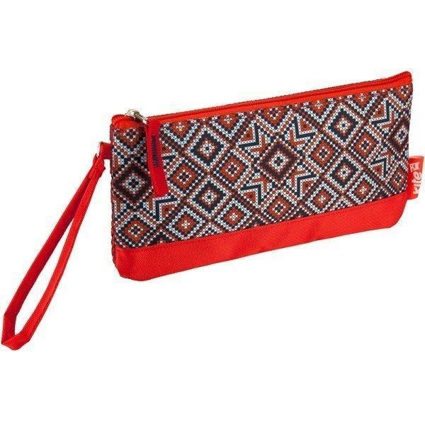 Пенал Kite Ethnic красного цвета, два отделения, 98550(K16-664-5)