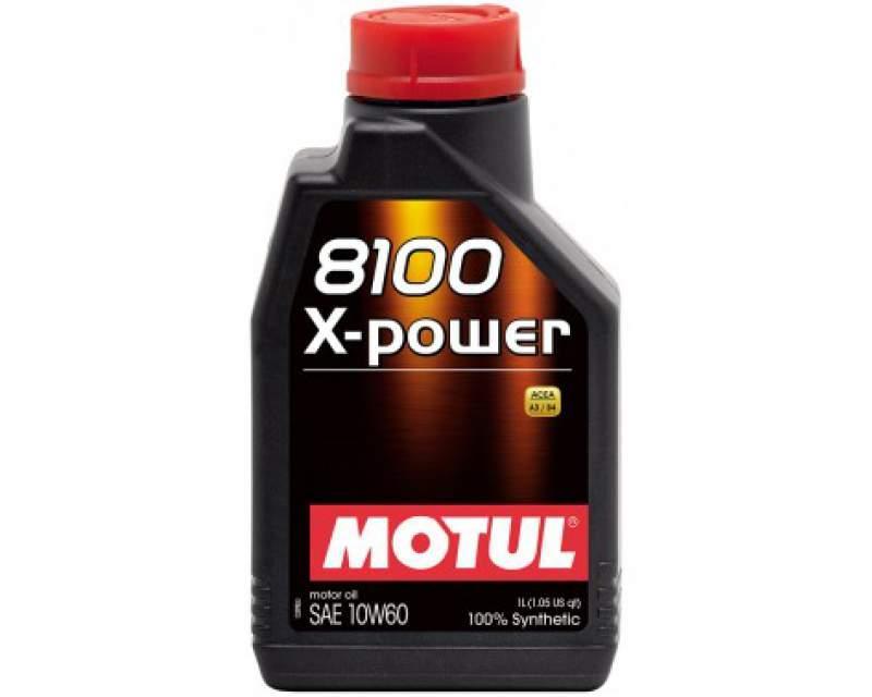 Синтетическое моторное масло - 8100 X-POWER 10W60 1л