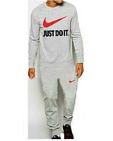 Спортивный костюм мужской серый с манжетами Nike Найк