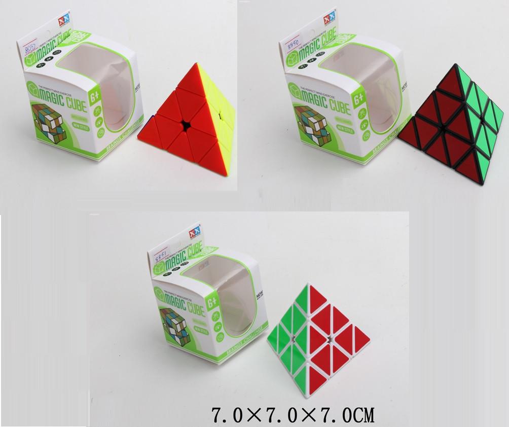 Кубик-логика треугольный, 3 вида, 8850/51/52