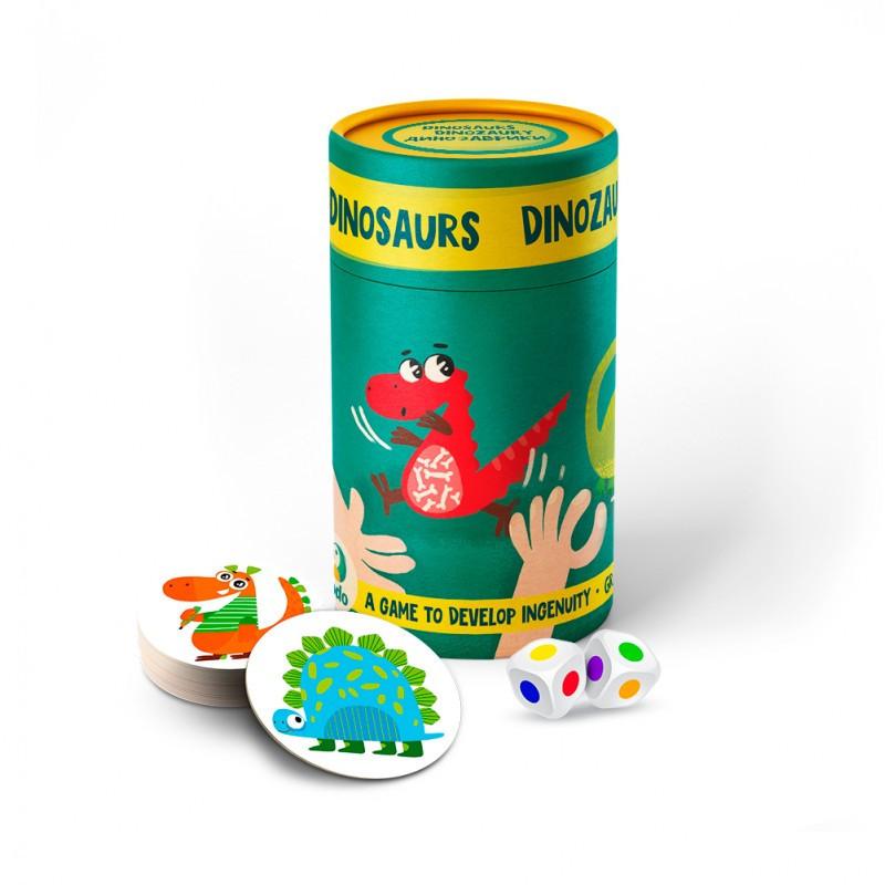 Игра настольная Динозавры (d10*14см) DoDo, 300207