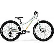 Велосипед MERIDA 2020 MATTS J.24+ UNI GLOSSY WHITE(TEAL/GOLD)