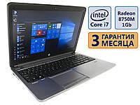Ноутбук HP ProBook 650 G1 15.6 1920x1080/ Intel Core i7-4610M (2xmax3.7GHz)/ Radeon HD 8750M/ RAM 8Gb/ SSD 240GB/ АКБ 51Wh/Сост. 9/10 БУ