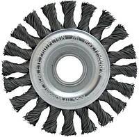 Щетка дисковая Housetools - 125 мм, плетеная