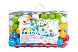 Игрушка «Набор шариков для сухих бассейнов», 5552
