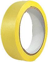 Лента малярная Housetools - 75 мм x 40 м, желтая