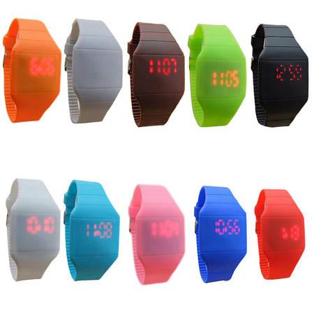 Спортивные мужские Led часы