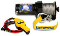 Лебедка LT-2000  (906кг) электрическая 12В с пультом на руле (1220210)