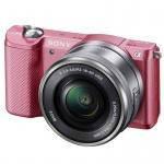 Sony Alpha A5000 kit (16-50mm) Pink