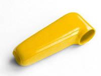 Изолятор из мягкого пластика на клемму силового провода лебедки жёлтый