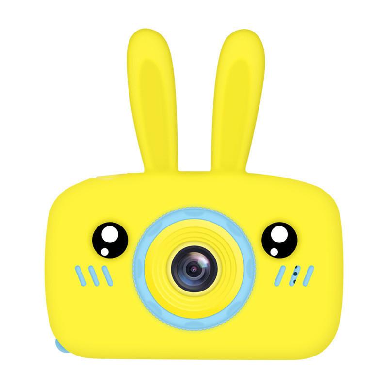 Детский фотоаппарат с 2 камерами Easy Smart Kids Cam FN812 с функцией видео и экраном (желтый)