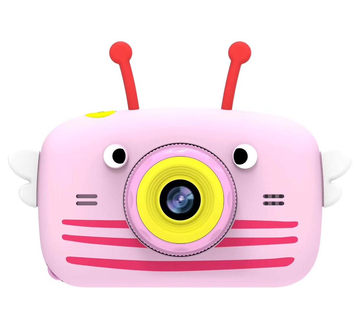 Детский фотоаппарат Easy Smart Kids Cam FN812 с функцией видео и экраном для просмотра (розовый)