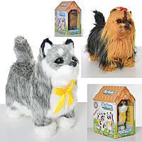 """Интерактивная игрушка """"Собака"""", сенсорная, машет хвостом, двигает головой, звук, 2 вида, 626-7"""