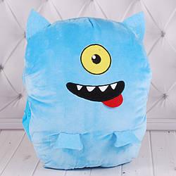 Игрушка-подушка-муфта-1, синяя, 00278-55