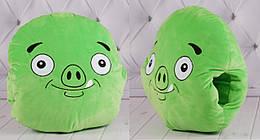 Игрушка-подушка-муфта, зеленая, 00278-43