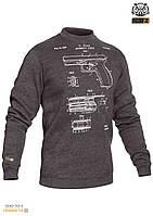 "Свитшот зимний ""WS- GLOCK"" (Winter Sweatshirt Glock Pistol Legend)"