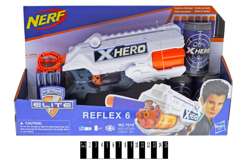 """Пистолет """"NERF"""", на поролоновых пулях, 7015"""
