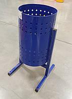 """Урна для мусора """"Цилиндр"""" 20 л. (синяя), фото 1"""