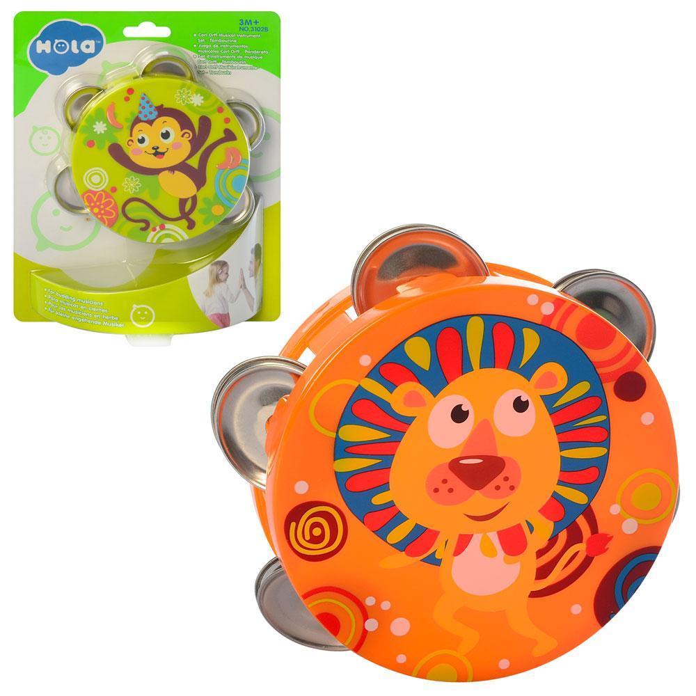Погремушка Huile Toys, бубен, 2 вида, 3102B