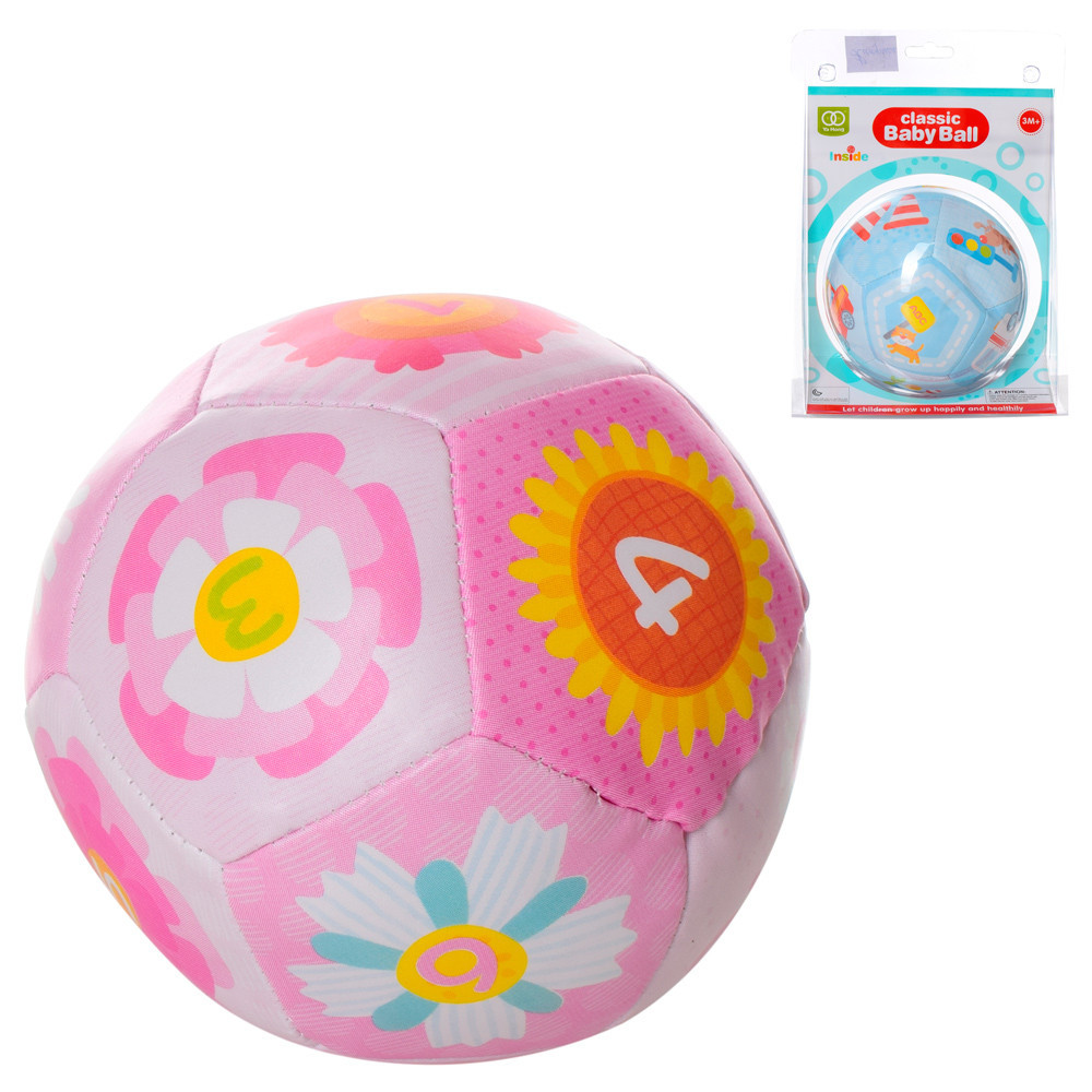 "Погремушка ""Мяч"", 2 вида, A05222"