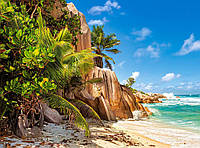 """Пазлы Castorland """"Райский пляж Сейшелы"""", 2000 элементов, С-200665"""