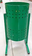 """Урна для мусора """"Цилиндр"""" 20 л. (зелёная), фото 1"""
