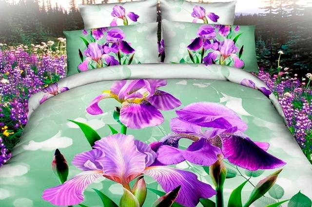 3D Полуторное постельное белье Ranforce