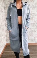 Женский теплый кардиган с капюшоном  И Г, фото 1