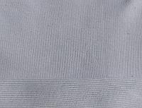 Трикотажная ткань  интерлок 30/1 пенье хлопковый однотонный серый с начесом
