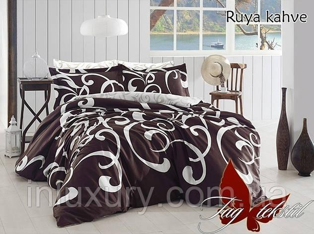 Комплект постельного белья с компаньоном Ruya kahve, фото 2