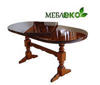 Стол раскладной, Стол Раздвижной на 2-х ногах со вставкой 40 см.