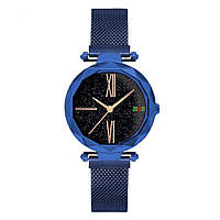 Стильные женские часы Starry Sky Watch Синие Скай воч Vsem