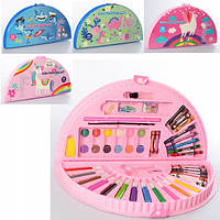 Набор для творчества, фломастеры, карандаши, акварельные краски, MK3918-2
