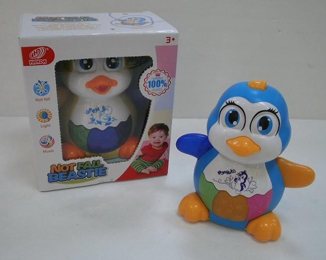 """Музыкальное животное """"Пингвин"""", свет, звук, HD986"""