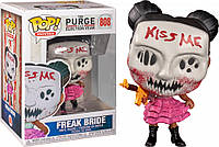 Фигурка Funko Pop Фанко Поп Судная Ночь Странная невеста The Purge Freak Bride 10 см - 222847