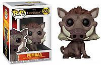Фигурка Funko Pop Фанко Поп The Lion King Pumbaa - 222363